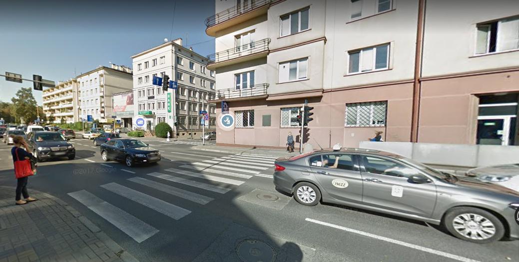 Ulica Lisa - Kuli w Rzeszowie / Google Maps