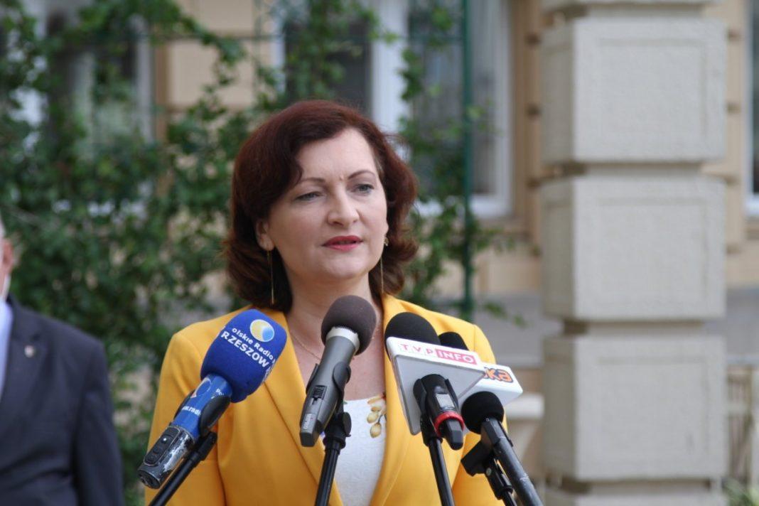 Ewa Leniart - wojewoda podkarpacki fot. PUW w Rzeszowie