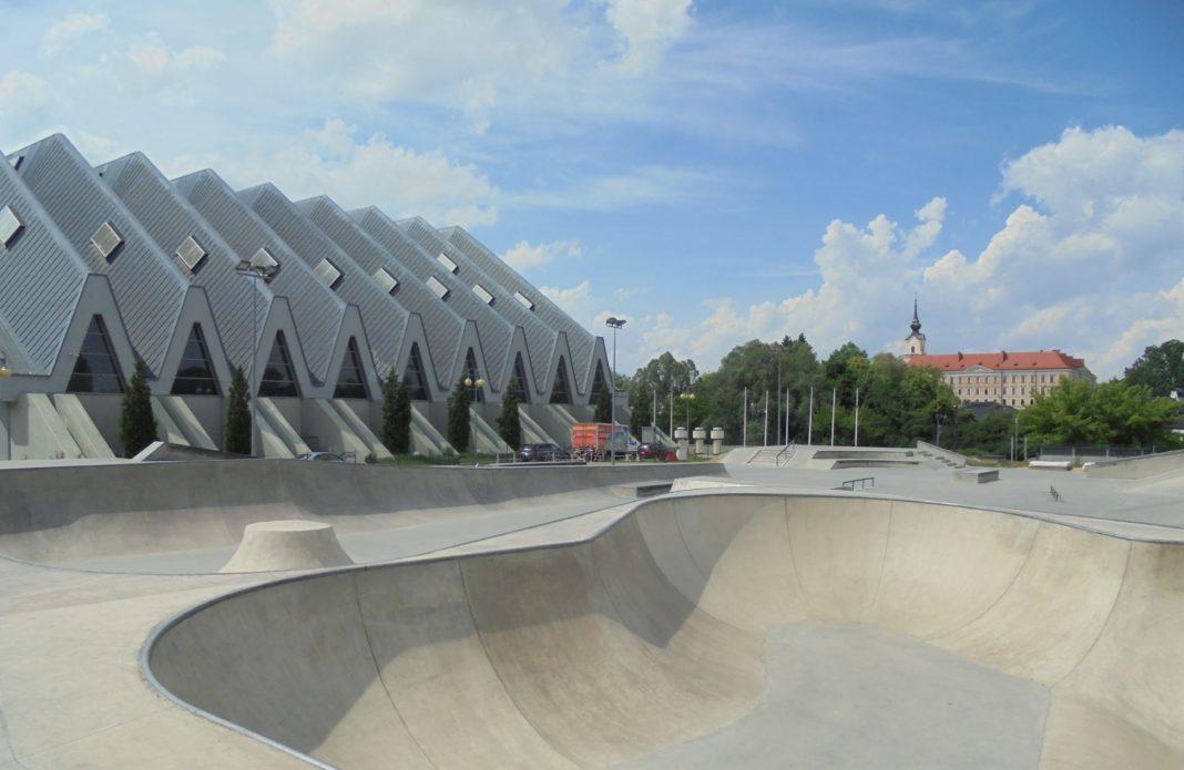 Skatepark w Rzeszowie, fot. ROSiR