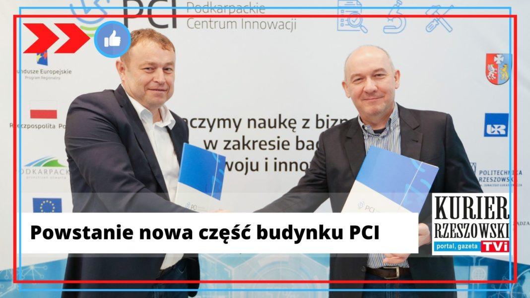 Podpisanie umowy Jacek Skimina i Jacek Kubrak