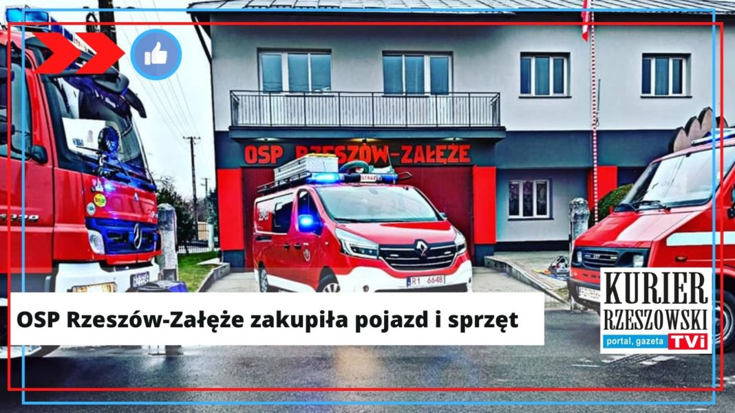 fot. fanpage na Facebooku OSP Rzeszów-Załęże