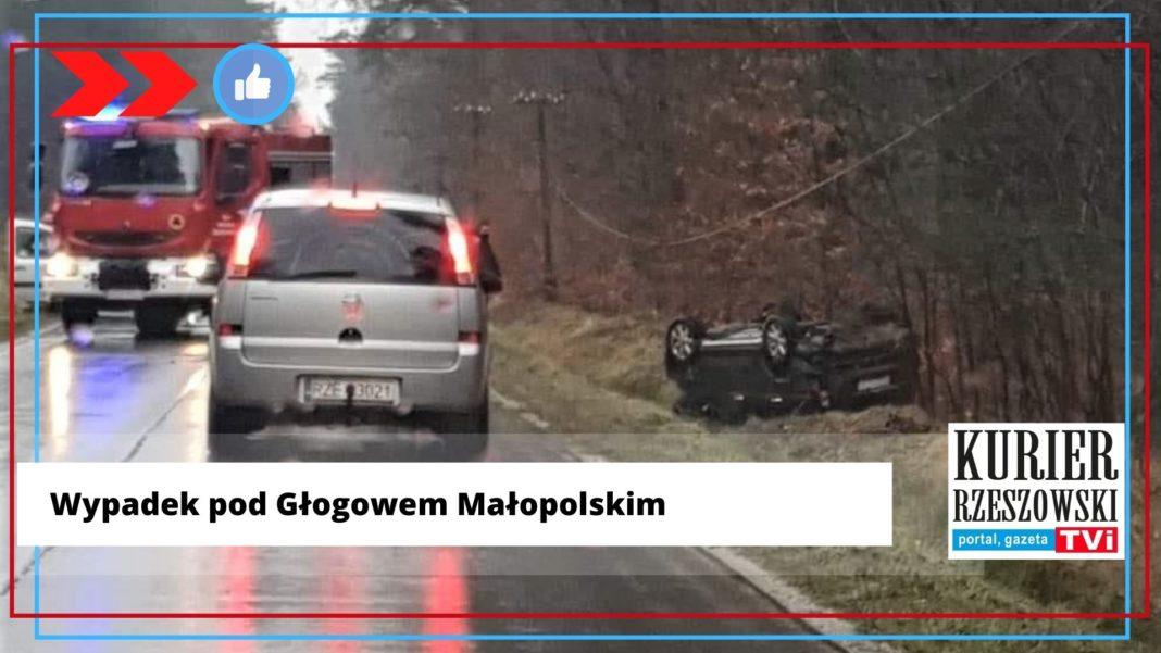 fot. FB gr. Kontrole policji, wypadki, kolizje w Rzeszowie i okolicach.