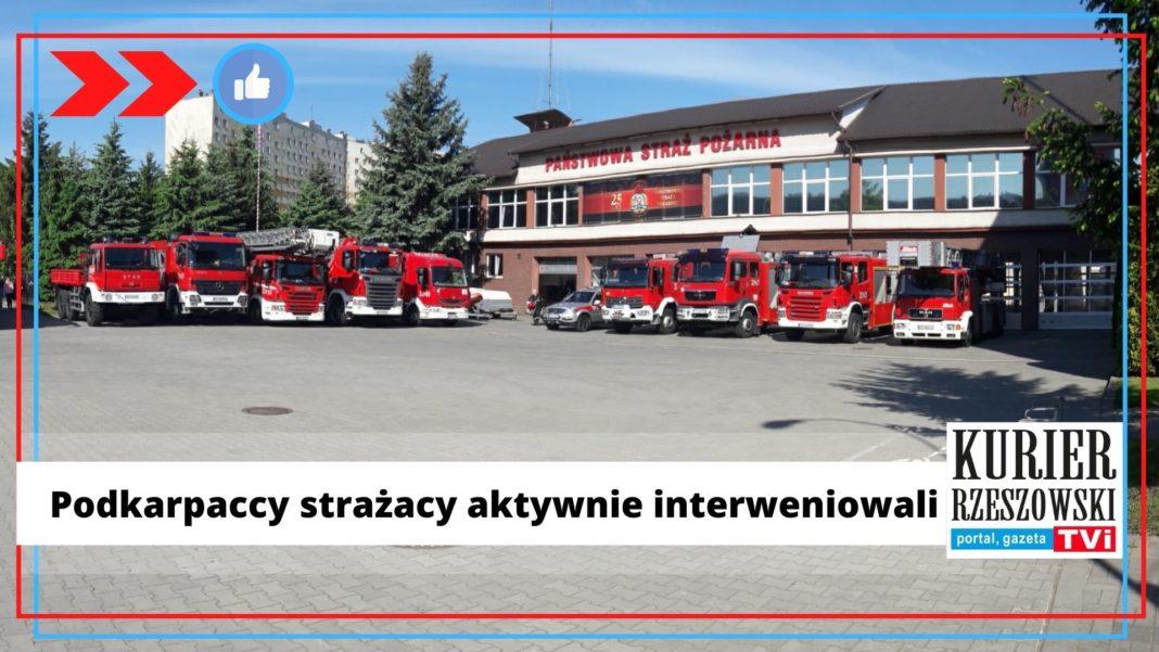 fot. fanpage Straży Pożarnej Rzeszów