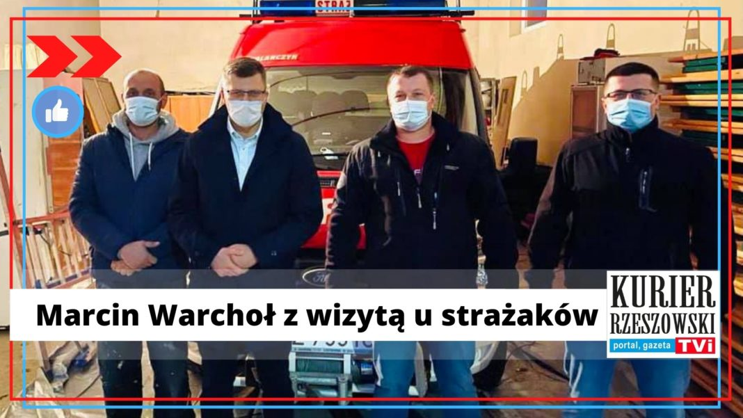 fot. materiały Marcina Warchoła na Facebooku