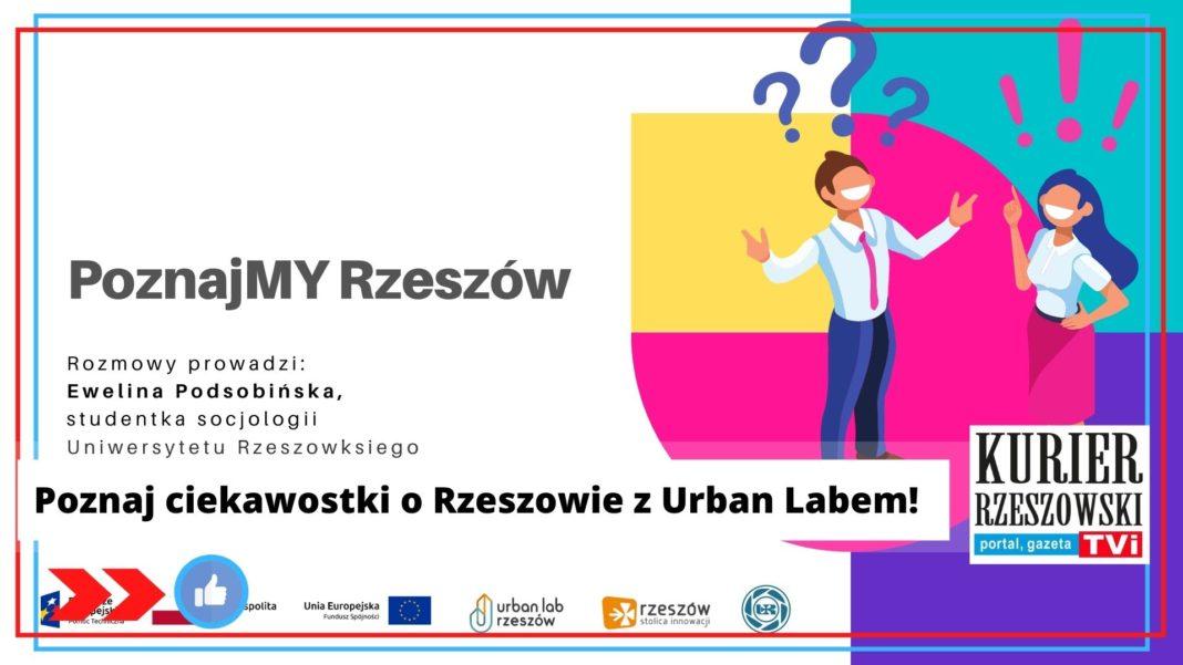 plakat Urban Lab Rzeszów
