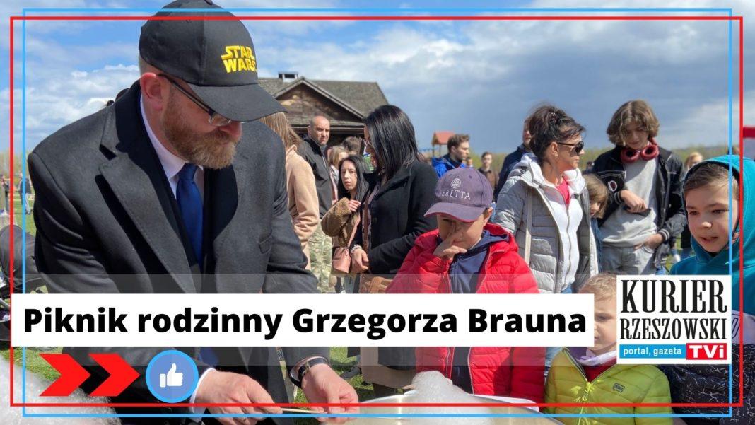 źródło: profil Grzegorza Brauna na Facebooku